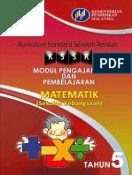 Modul PdP Matematik Tahun 5 SK