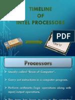 Timeline - Intel Processor