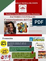 Factores culturales del comportamiento del consumidor