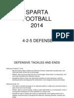 4-2-5 Defense