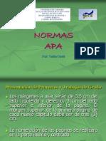Normas Apa (Octubre 2010)