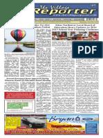 The Village Reporter - June 25th, 2014