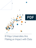 8 Ways Universities Impact With Data