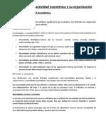U1 T1.1 La Actividad Económica