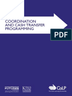 Is Cash Transfer Programming 'Fit for the Future'? - Final Report