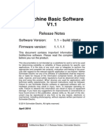 SoMachine Basic - Release Note
