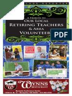 2014 Veterans Tribute & Teacher Retirement