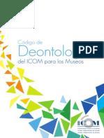 Codigo de Deontologia Para Museos ICOM
