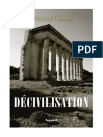 Décivilisation - Renaud Camus