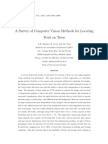 A Survey of Computer Vision Methods for Locating Fruit on Trees