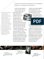 Excerpt From GSO 60th Anniversary Publication 2007