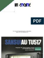 Hfe Sansui Au-517 Tu-517 Brochure
