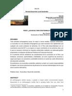 Perú ¿Acuicultura Sostenible