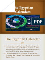 The Egyptian Calendars