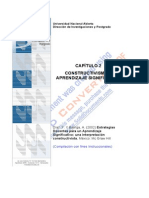 Constructivismo y Aprendizaje Significativo I