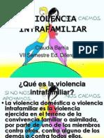 VIOLENCIA INTRAFAMILIAR 2° PRUEBA