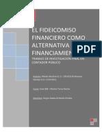 El Fideicomiso Financiero Como Alternativa de Financiamiento