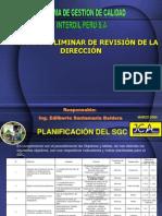 Indicadores SGC y PGC