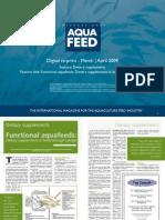 Functional aquafeeds