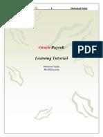 Oracle Payroll Module