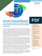 ACRONIS UNIVERSAL RESTORE