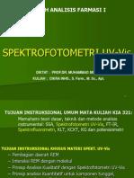 Kuliah 1 Spektro Uv-Vis 2014