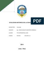 Monografía de Sociología