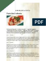 Pasta bien rellenita LAS RECETAS DE BLANCA COTTA