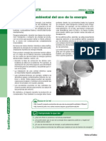 Punto de Lectura-impacto Ambiental Del Uso e La Energia