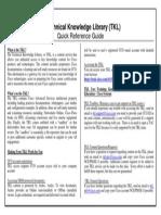 Cisco Tkl at Glance Quick Reference Guide v1