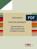 Estado y Pueblo Mapuche