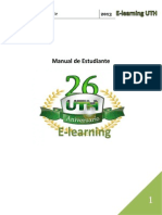 Manual de Estudiante E-learning UTH