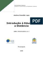 LAPA, A. B. Introdução a Educação a Distância.