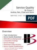 Service Quality Presentation