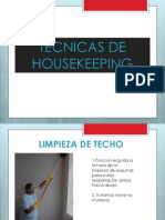 Tecnicas de Housekeeping - Dominguez Eduardo