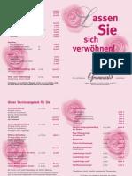 Beauty-Angebot Flyer Parfümerie Grünewald