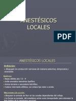 22 Anestesicos Locales