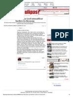 06-23-2014 'Instruye Pepe Elías Leal intensificar bacheo en Reynosa'.