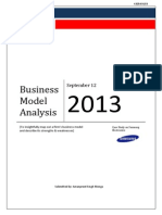 Samsung Business Model Analysis