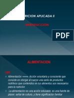 Nutricion Aplicada - Clase I