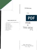 Mário Ferreira Dos Santos - Análise de Temas Sociais, Vol. 3