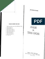 Mário Ferreira Dos Santos - Análise de Temas Sociais, Vol. 1