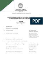 Program_Congressional Consultations Upi Leg