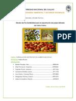Estudio de Mercado y Tecnico - CAMU CAMU