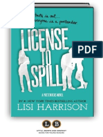 License to Spill (A Pretenders Novel) by Lisi Harrison (Preview)