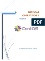 Informe - Servicio de Network