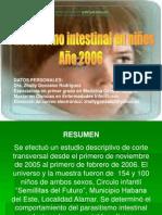 Tesis Parasitismo Intestinal Ninos 190907