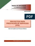 Proyecto para prestación de servicios