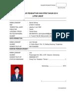 Form Pendaftaran KKNPPM