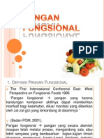 PANGAN FUNGSIONAL-seminar Iptekhampir Fix Ppt